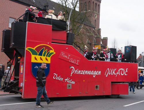 20. Karnevalsumzug 2017 in Velen