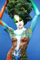 Bodypainting WM 2009