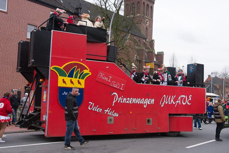 20ter Rosenmontagsumzug 2017 in Velen