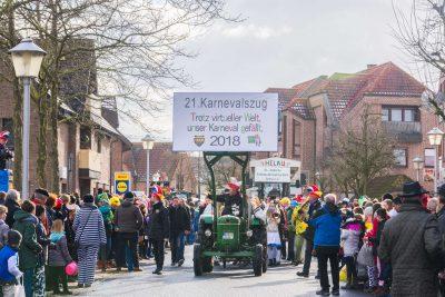 21ter Karnevalszug 2018 Velen